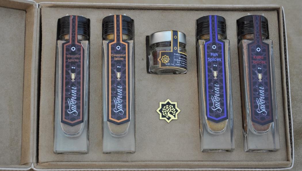 coffret cadeau epices marocaines