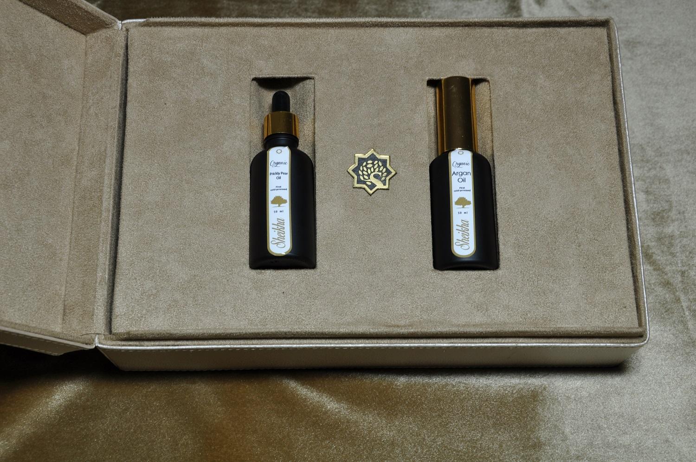 coffret cadeau huile d'argan cosmetique bio huile de pepin figue de barbarie bio maroc